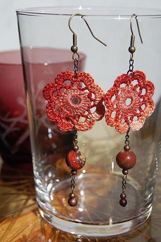 Patrons &amp&#x3B; modèles gratuits des bijoux au crochet