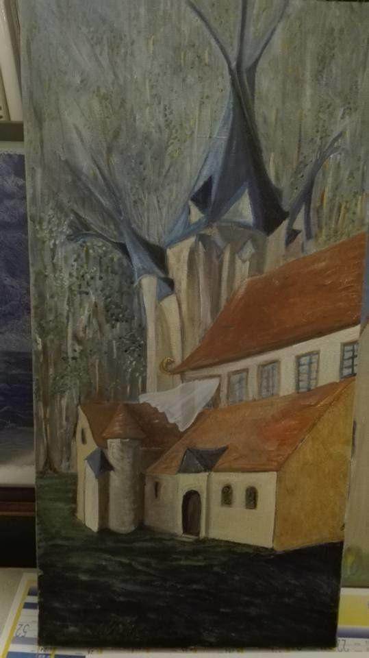 petits travaux , en peinture acrylique,huile sur toile et sur papier , aquarelle. crayons,BIC, couleurs .......
