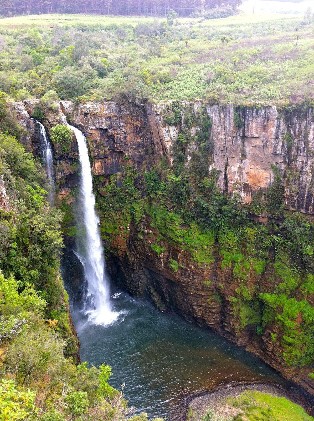 Warum Reisen? Wegen den Wasserfällen!