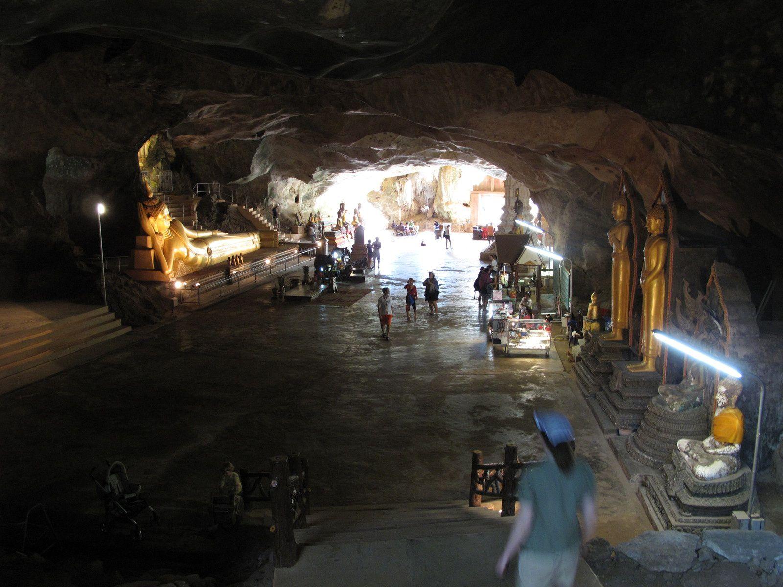 Warum Reisen? Weil auch der Untergrund lockt: Höhlen