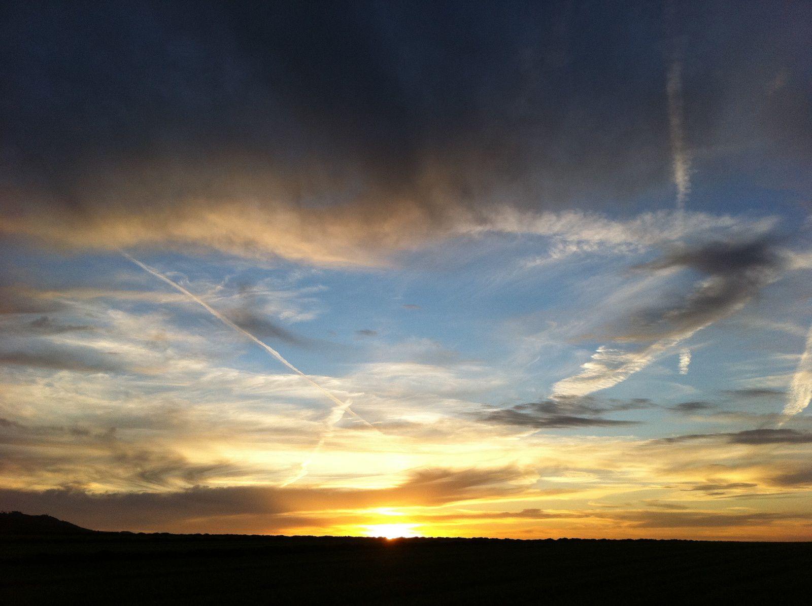 Weshalb Reisen? Weil Sonnenuntergänge und Sonnenaufgänge sonst viel zu wenig Beachtung finden