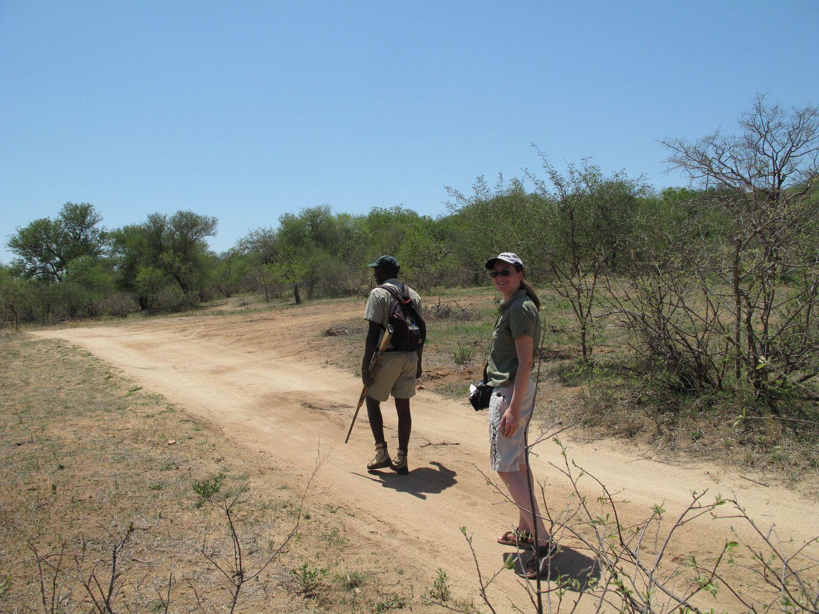 Safari-lodge mit Kind
