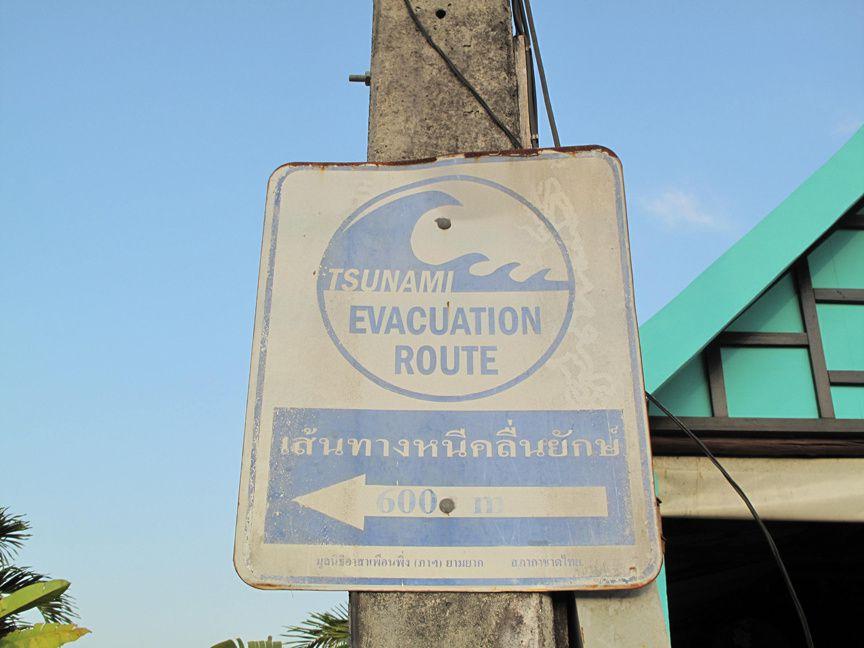 Der Tsunami von 2004 in Khao Lak