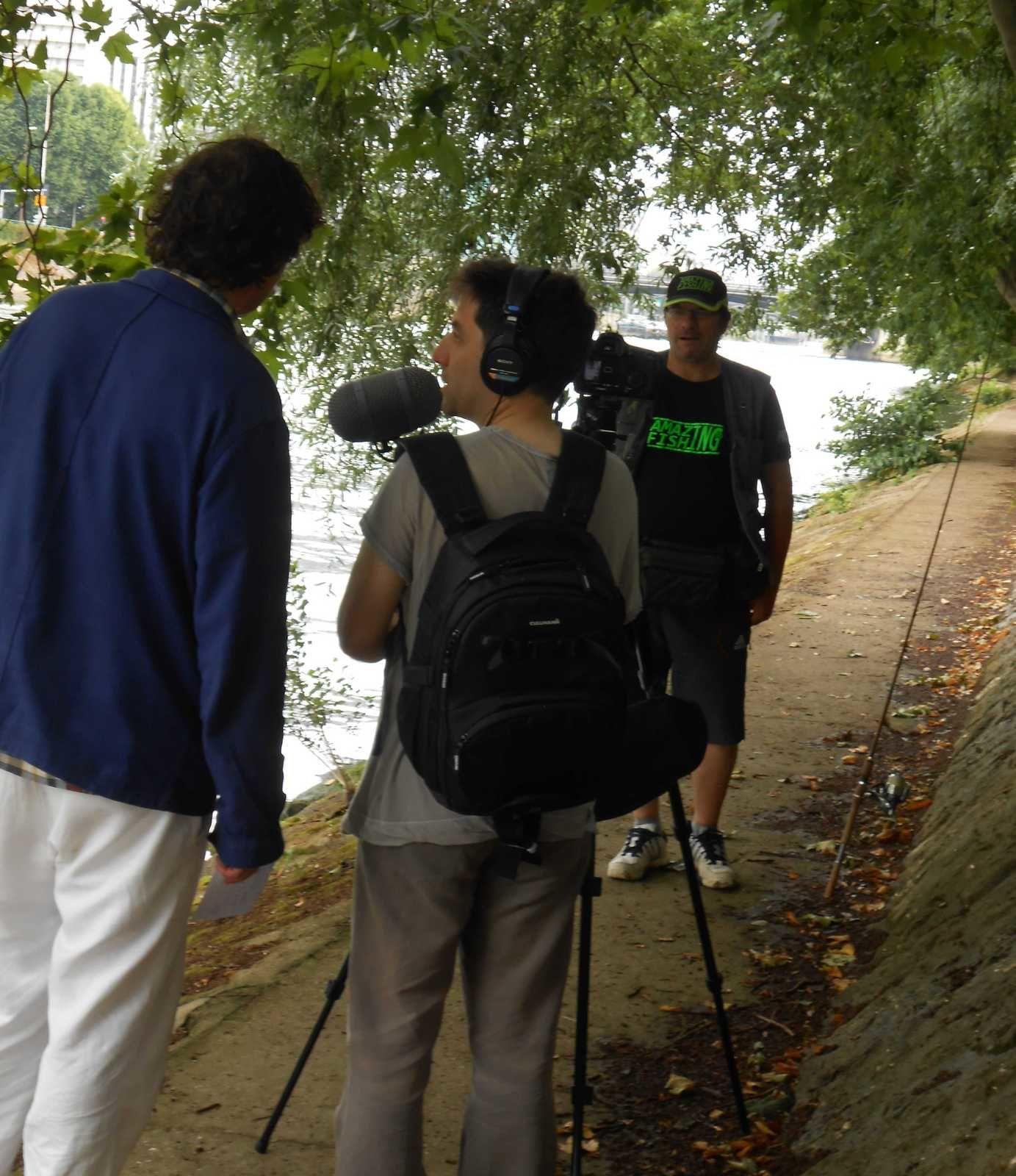 tournage  en Seine .......!!!!