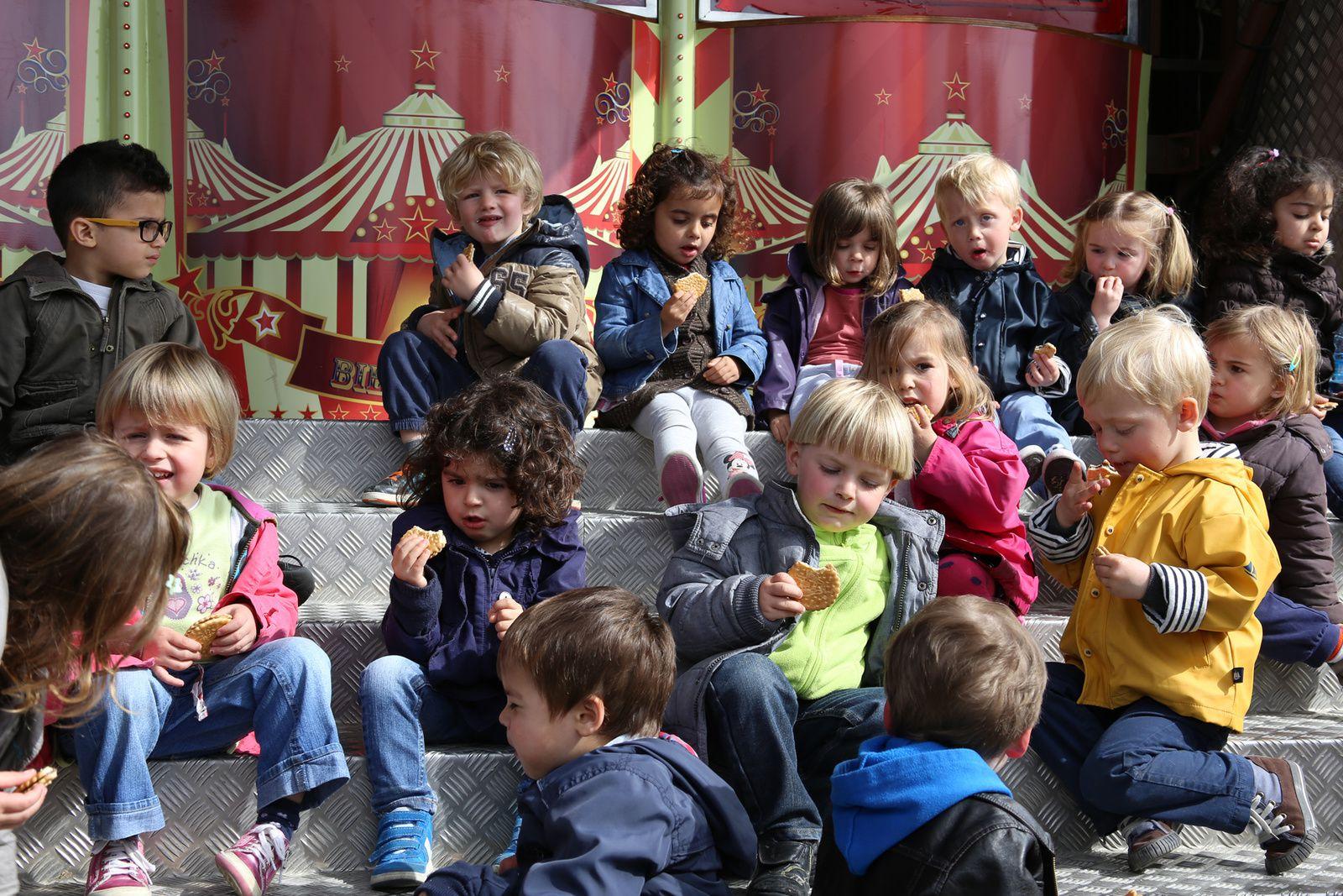 Sortie Cirque pour les maternelles de l'école St Régis
