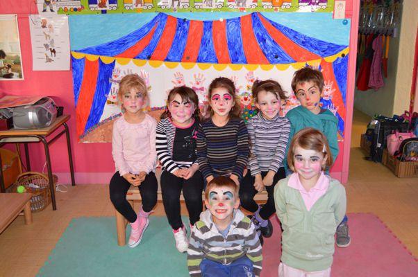 Classe cirque à l'école Saint Régis