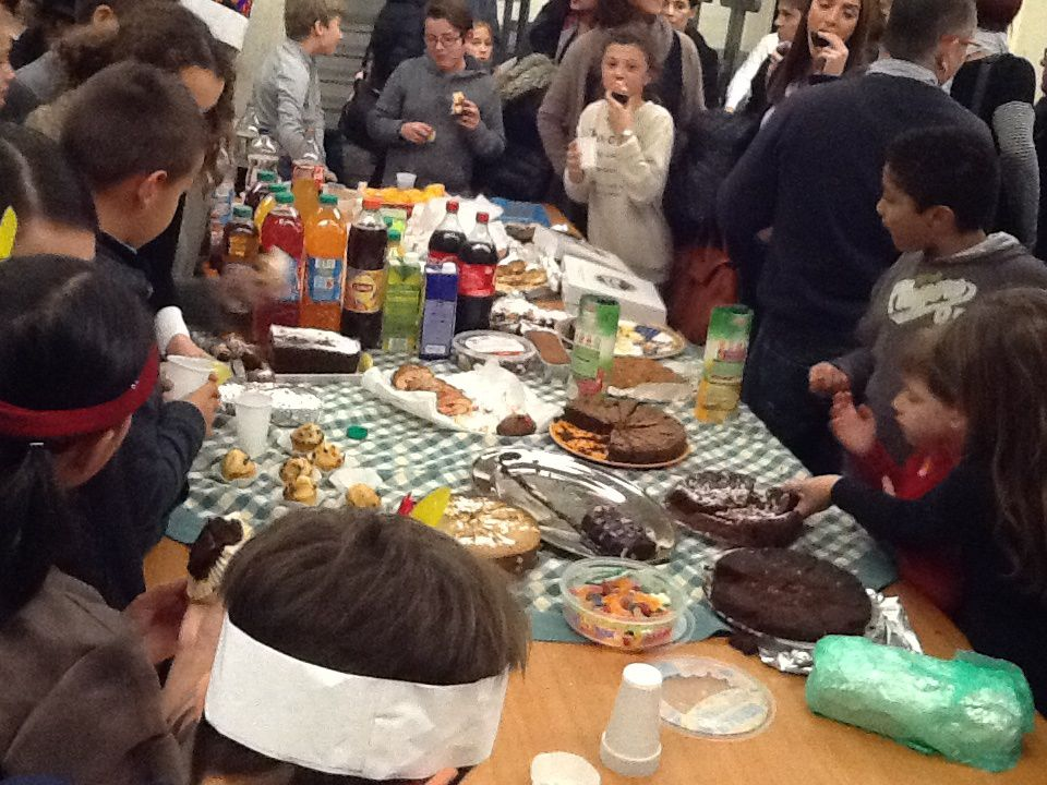 Fraternité : Quand les 6èmes bilingues fêtent Thanksgiving