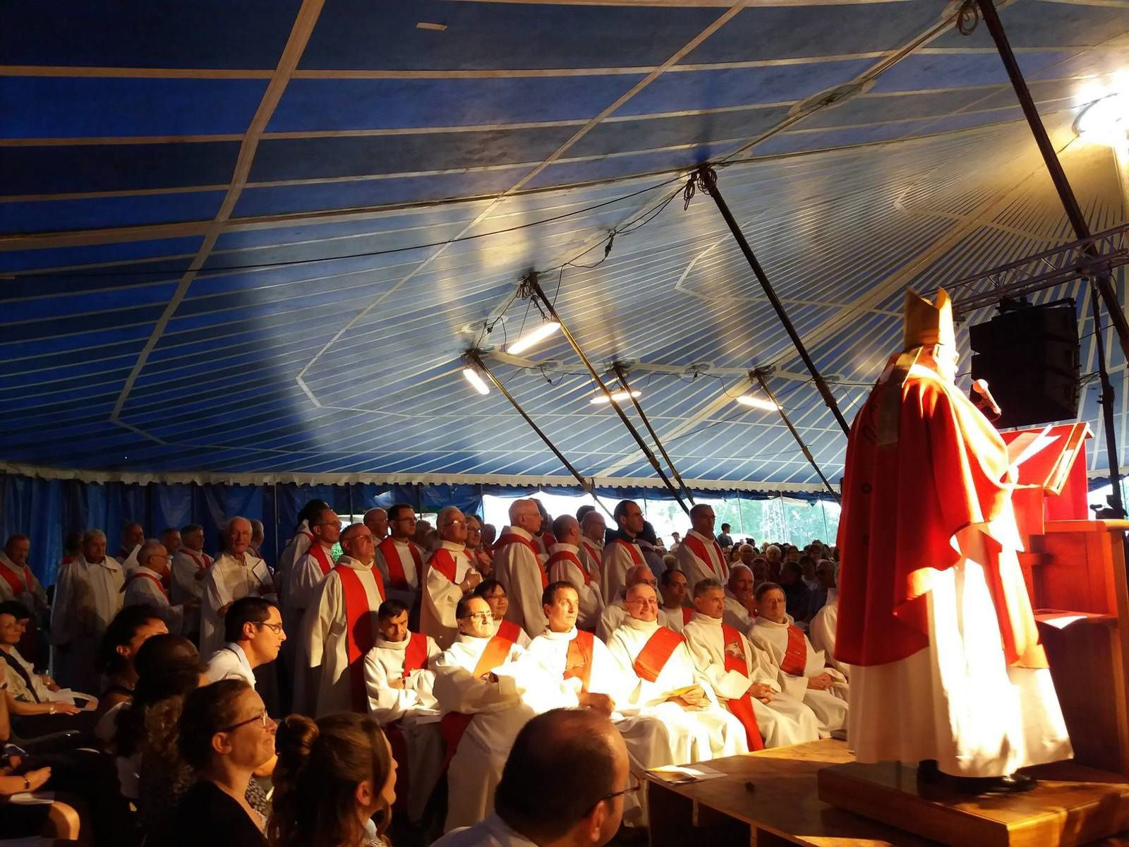 Rassemblement diocésain à Davézieux
