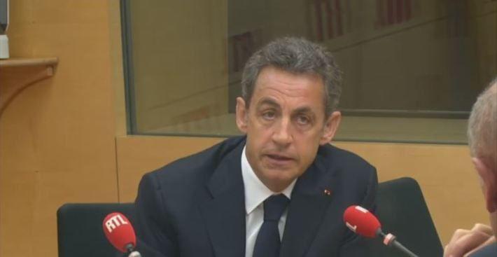 Nicolas Sarkozy était l'invité de RTL, lundi 12 janvier 2015. - © Capture d'écran RTL