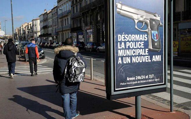 RMC/BFMTV : Béziers: êtes-vous choqués par l'affiche de la police ?