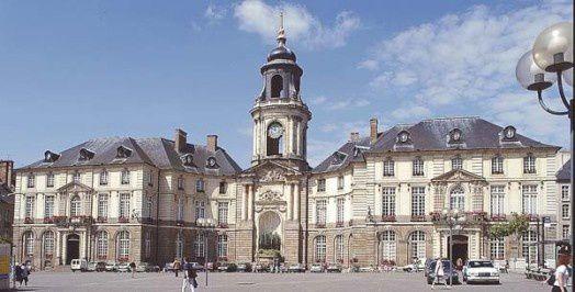 Hôtel de Ville de Rennes (35)