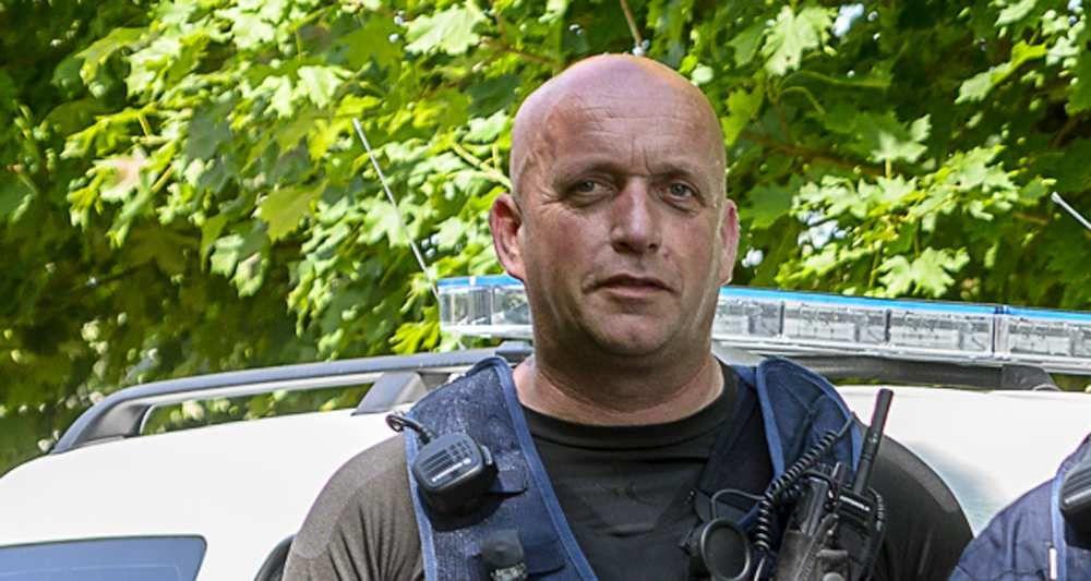 Alain Dal, délégué du Syndicat de Défense des Policiers Municipaux - Photo Sébastien JANVIER