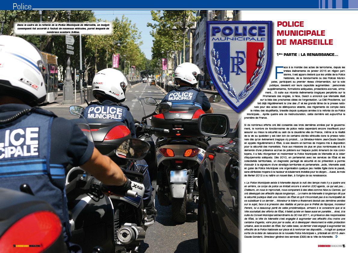 La Police Municipale dans Commando Magazine