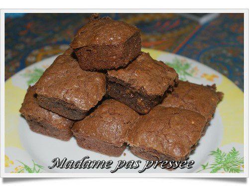 brownie pour une petite pose douceur