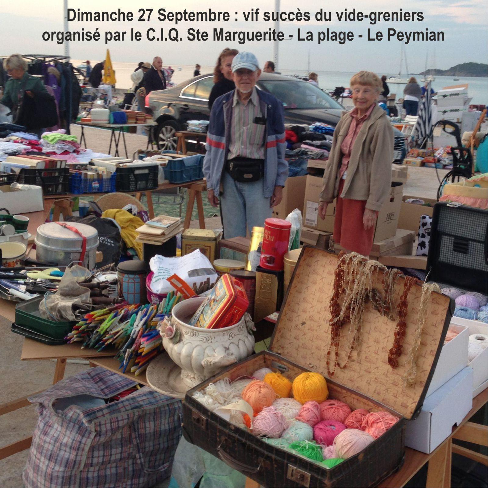 1 OCTOBRE 2015 - INFOS DU CIQ
