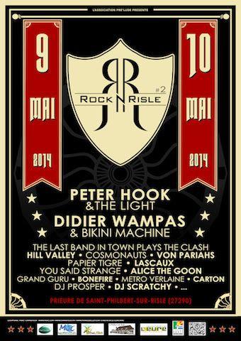 Festival Rock'n'Risle  les 9 et 10 mai 2014.