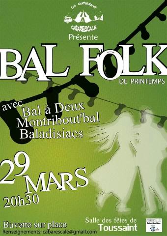 Bal Folk de Printemps à Toussaint
