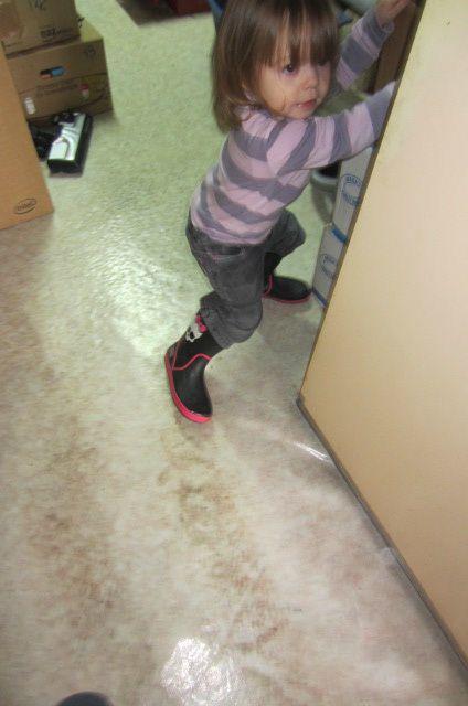 ou les bottes de pluie de grande grande soeur Olivia-Rose