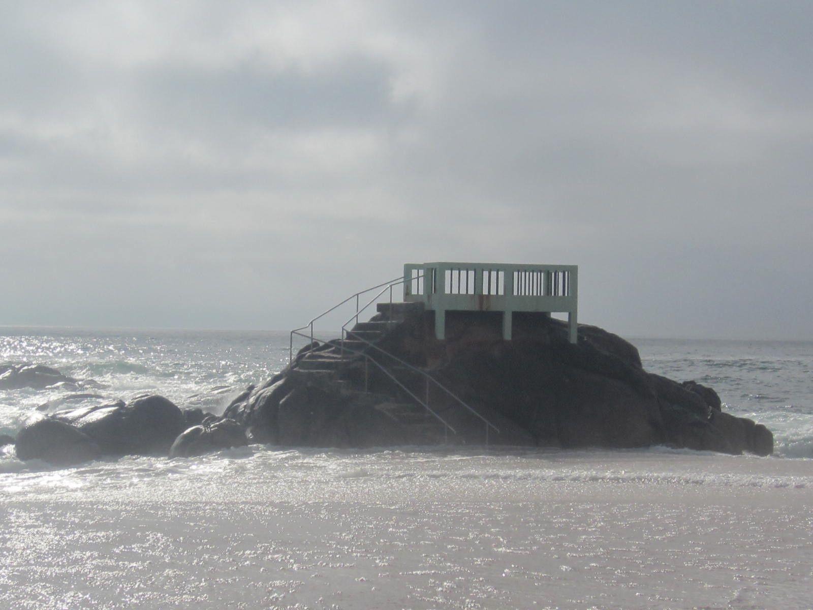 Nos premières virées seront à la plage, plus particulièrement au fameux rocher