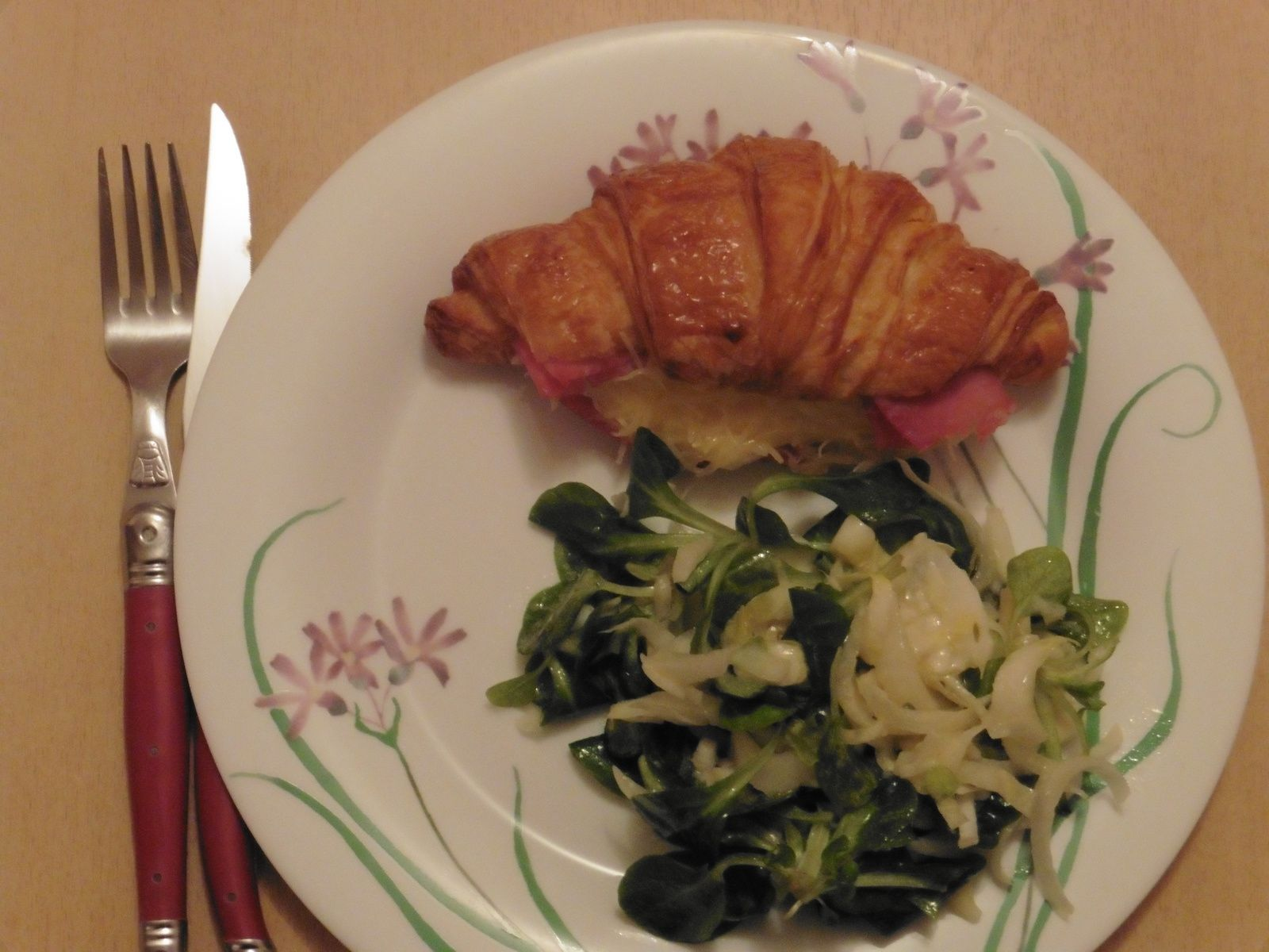 Croissants au jambon [A TABLE !] #2