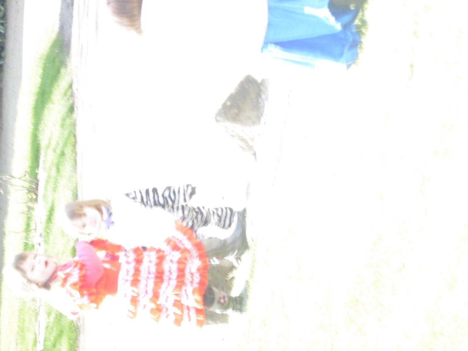 Dimanche Carnaval - oui dans mon village aussi ils appliquent mon dicton ! - agréable moment où les enfants ne veulent pas que ça s'arrêtent &#x3B;)