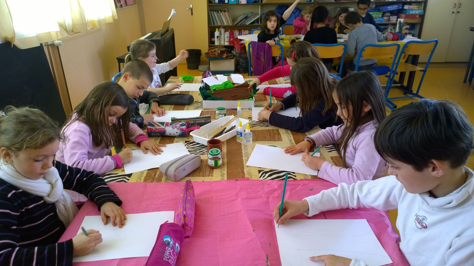 Ateliers d'illustrations pour le livre des CP-CE1 / CE2