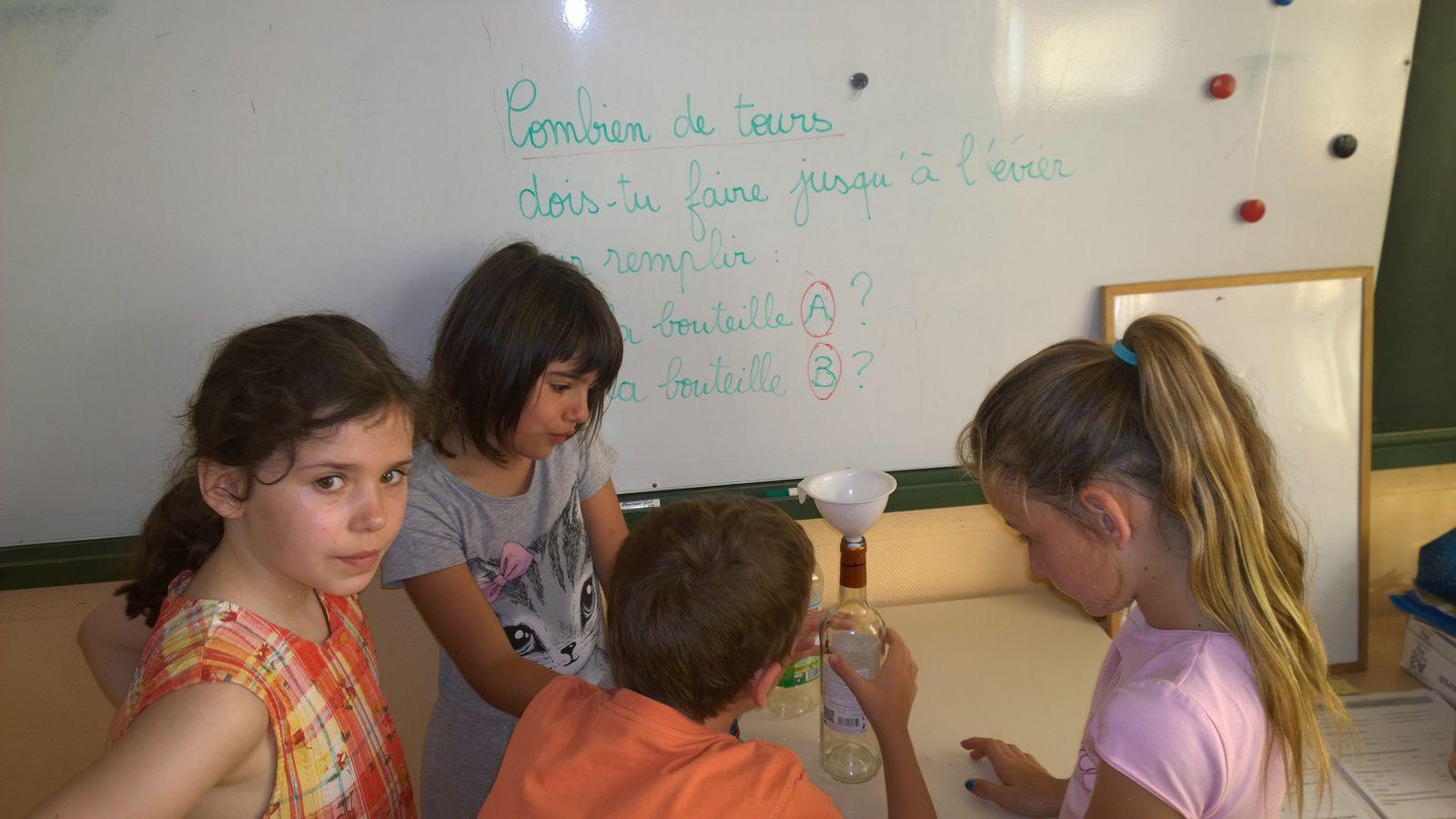 Ateliers&quot&#x3B;contenances&quot&#x3B; pour les classes de CE2 et CM1