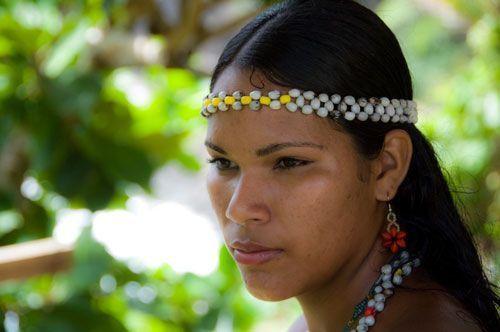 Amérindienne Kalinas ma lignée d'origine
