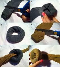 Diy : un donnut pour chignon