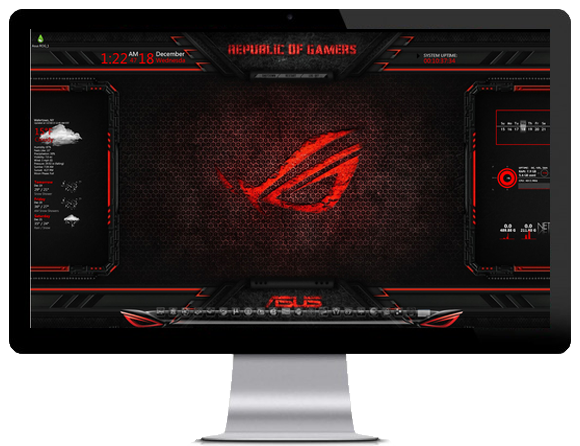 Asus Rog Theme Windows 8 Download - obget