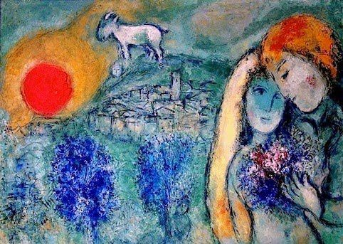 Marc Chagall - Amour