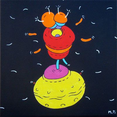 Twist'In Space (30x30)…