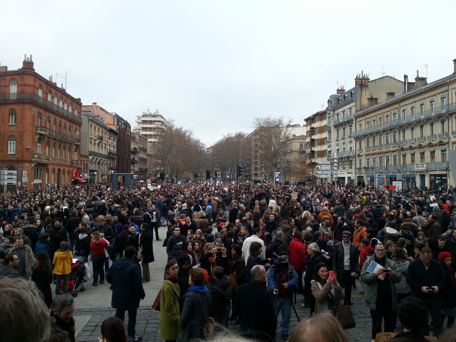 A Toulouse, nous sommes Charlie