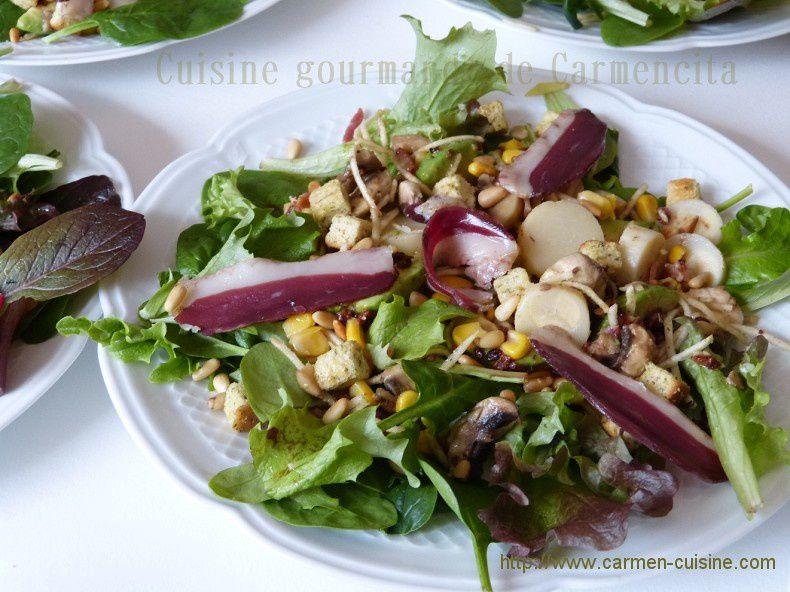 Salade fraîcheur croquante