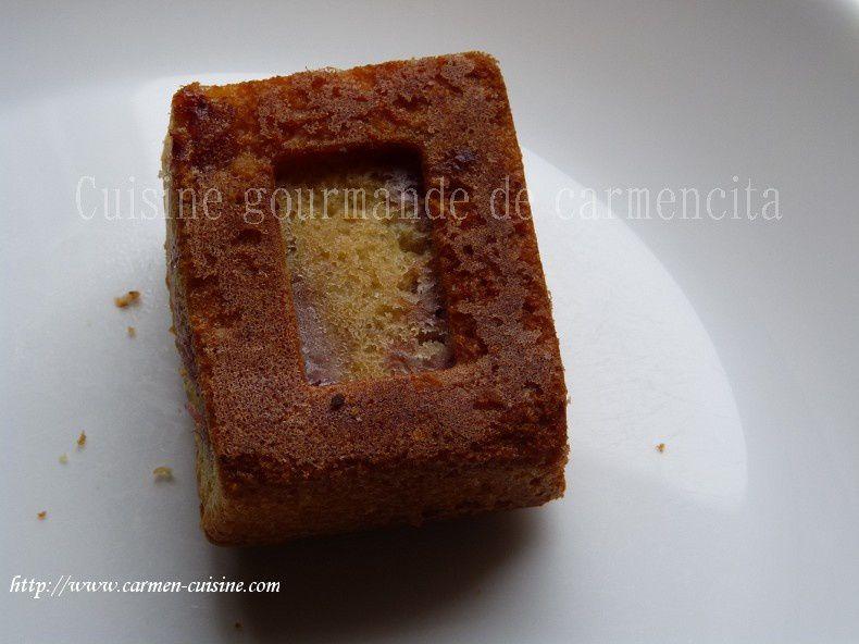Gâteaux moelleux aux fraises et chocolat noir