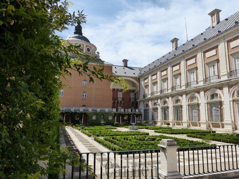 le Palais Royal, fut construit sur l'ordre de Philippe II, de 1561 à 1778.