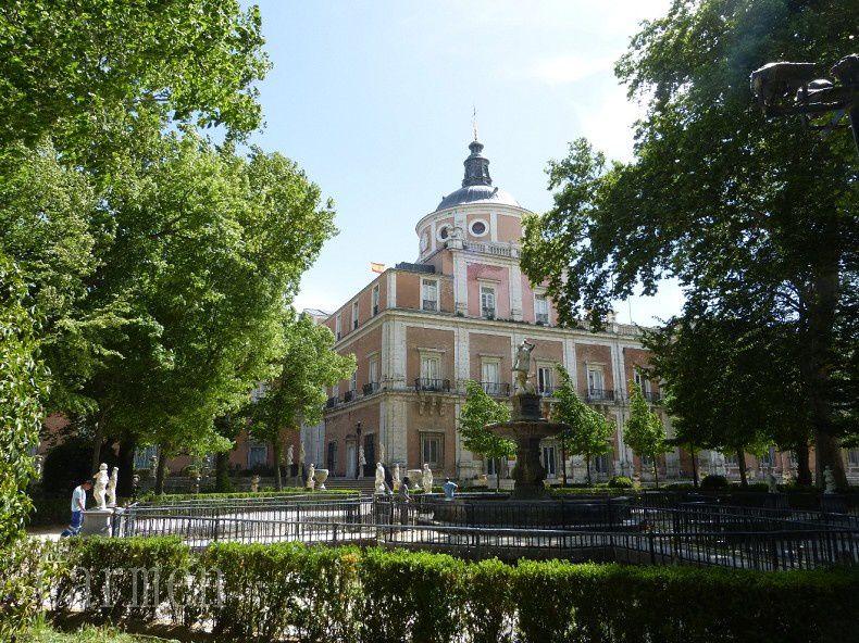 La palais royal d'Aranjuez