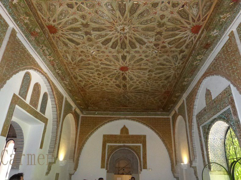 Le palais royal Alcazar à Séville