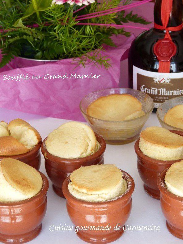 Soufflé chaud au Grand Marnier