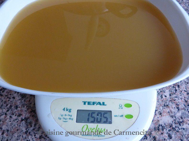 Gelée de pissenlit  ou cramaillotte