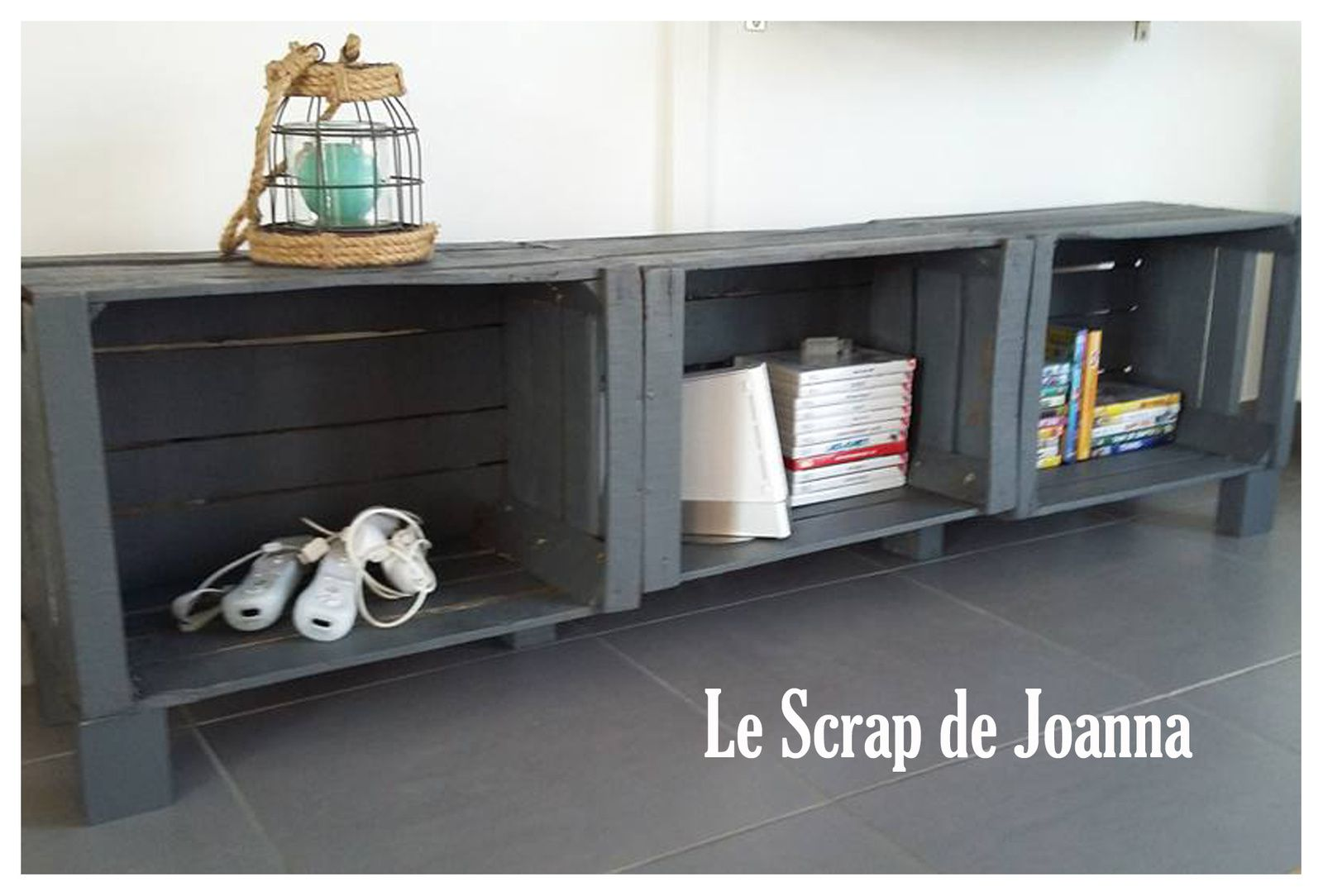 caisse pommes le scrap de joanna. Black Bedroom Furniture Sets. Home Design Ideas