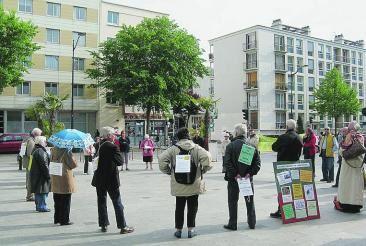 Cercle de silence au Havre