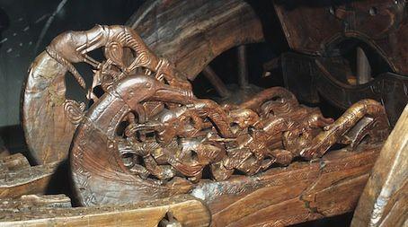 Epoque viking, Trésor d'Oseberg, Musée des bateaux vikings.