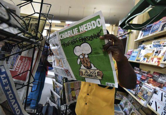 Le personnage en une de Charlie Hebdo n'est pas le Prophète