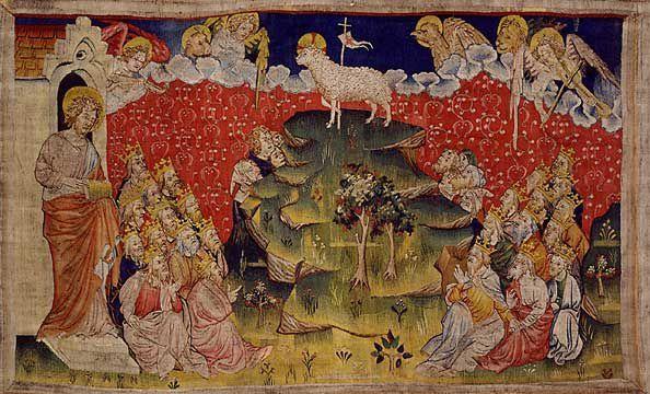 L'Agneau, tenture de l'Apocalypse, fin XIVe siècle, Angers, France