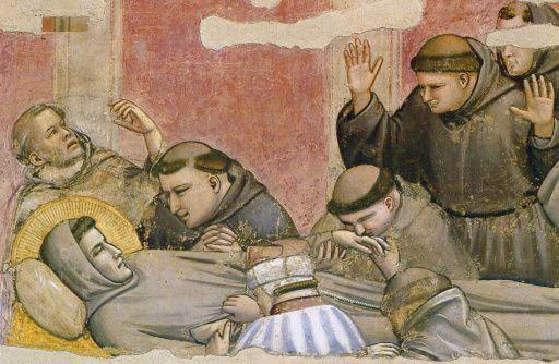 Mort Saint François - Giotto 1325