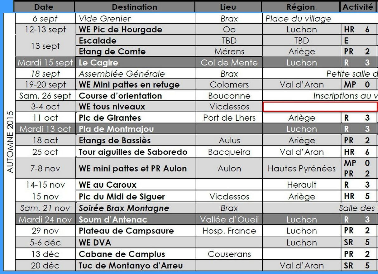Programme 2015 2016 version du 13 juillet 2015