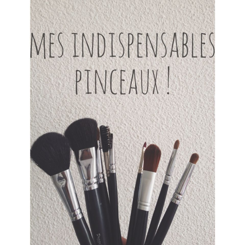 [indispensables n.1] mes indispensables pinceaux !