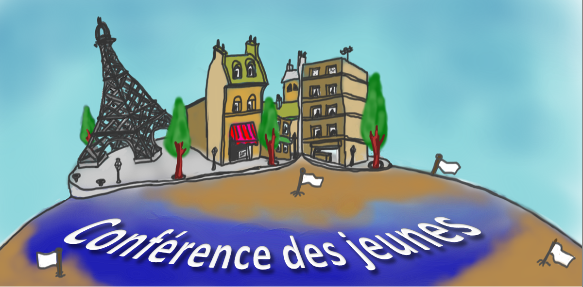 Vue d'artiste d'un quartier théorique de Paris.