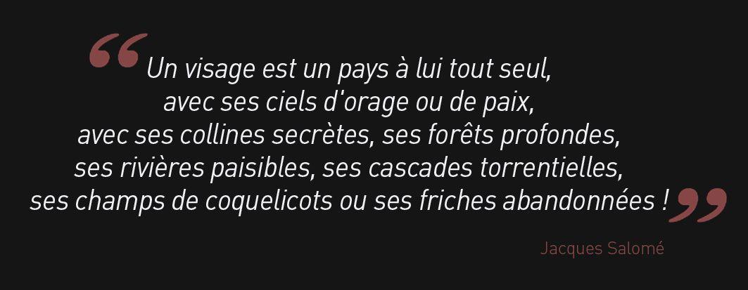 LE &quot&#x3B;PAYSVISAGE&quot&#x3B; PAR JACQUES SALOMÉ